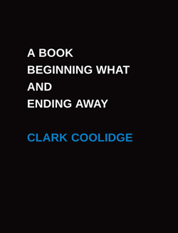 cover of A Book Beginning What and Ending Away