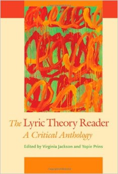 The Lyric Theory Reader